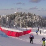 The start of Tremblant's 24h race course