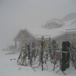 The snow is beginning to pile up at Tremblant!