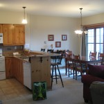 Kitchen/ dining areas
