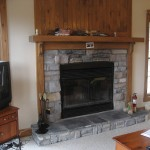 Enjoy the warmth of your own fireplace