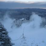 Mountain crews continue to make snow through the colder temps